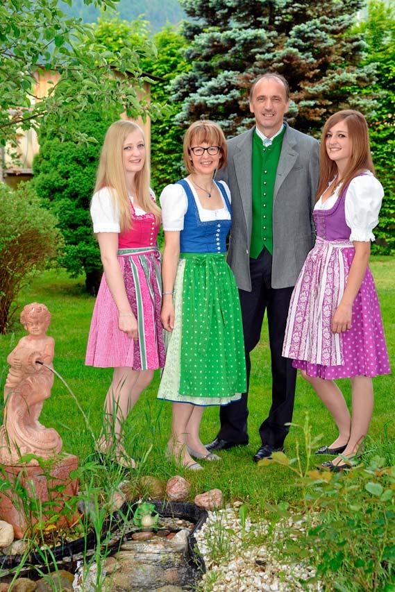 Ihre Gastgeber Familie Pendl