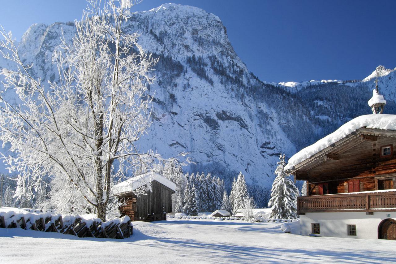 Abtenau Arlerhof im Winter