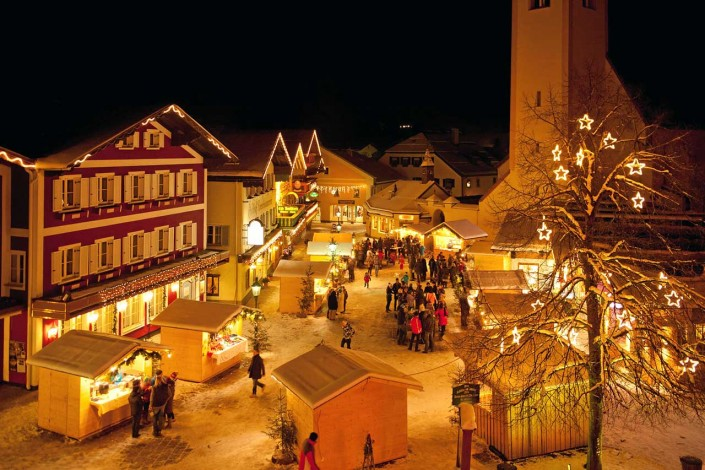 Hotel Traunstein in Abtenau im Winter