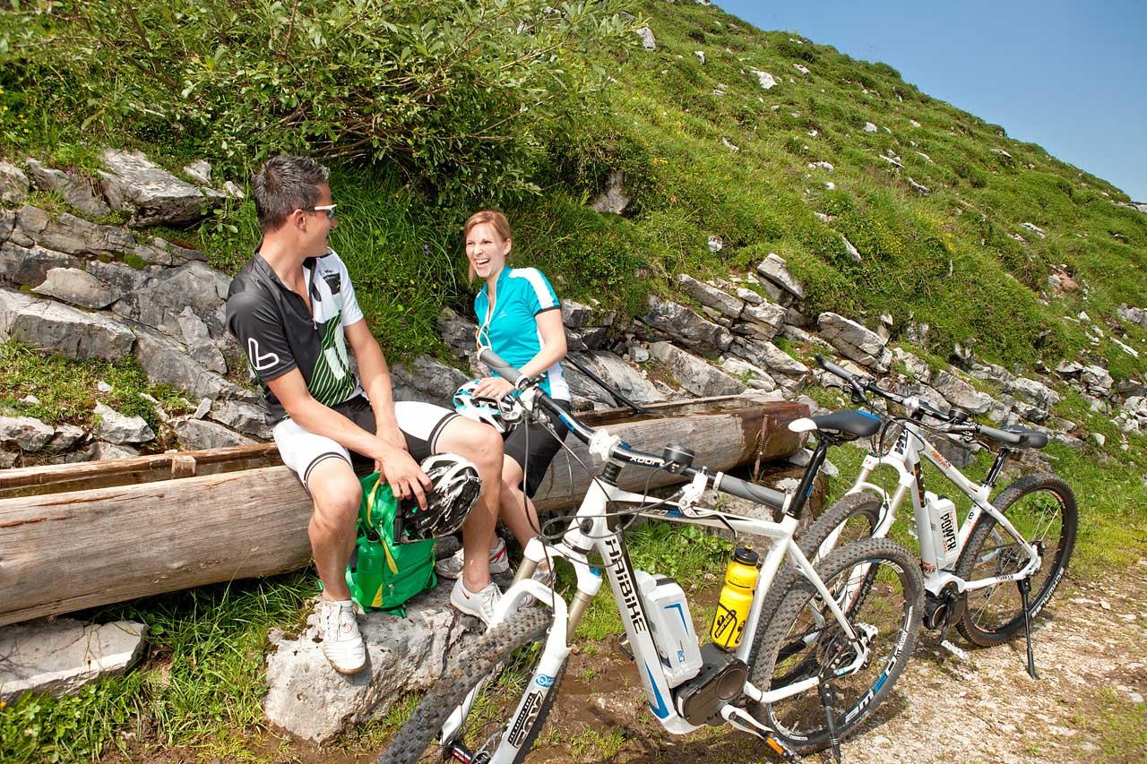 Hotel Traunstein in Abtenau - Mountainbike