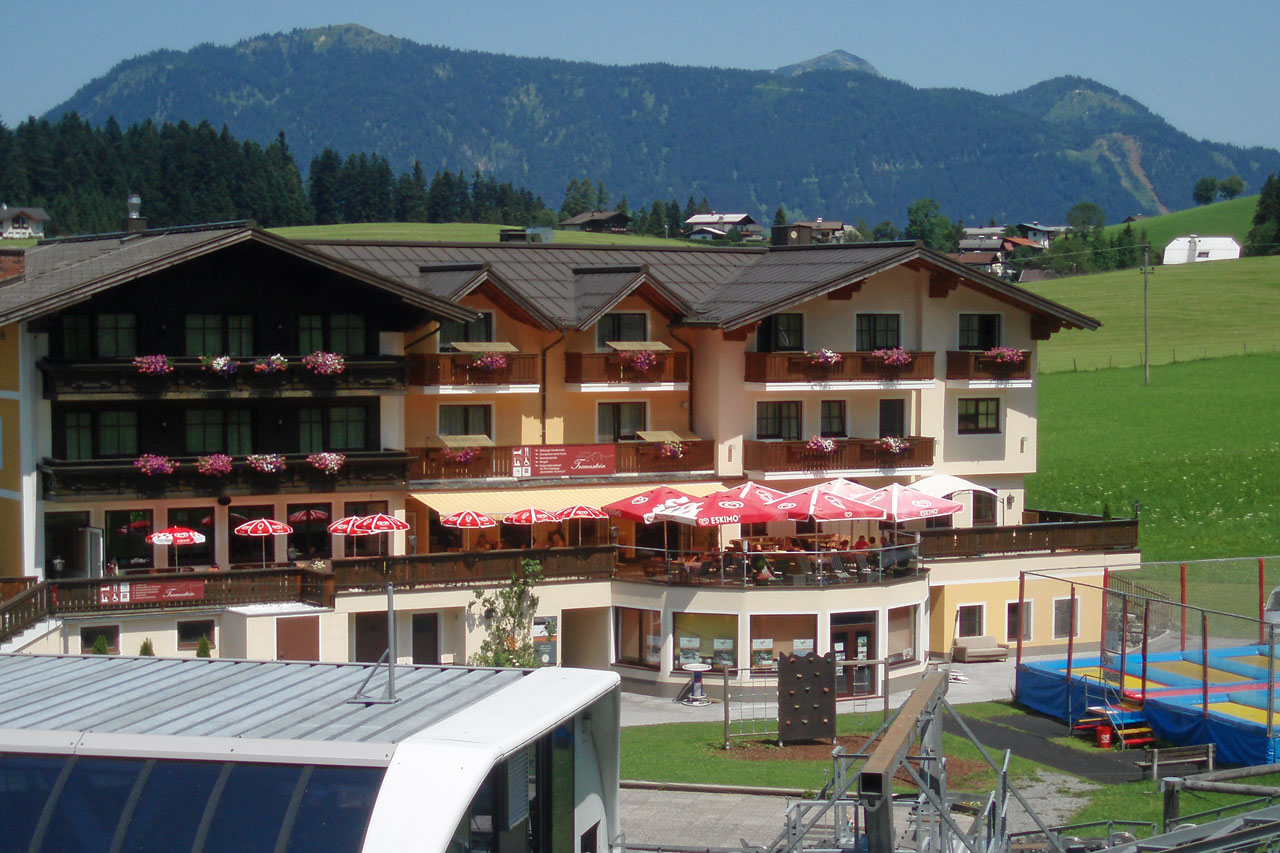 Hotel Traunstein in Abtenau - Panoramaterrasse