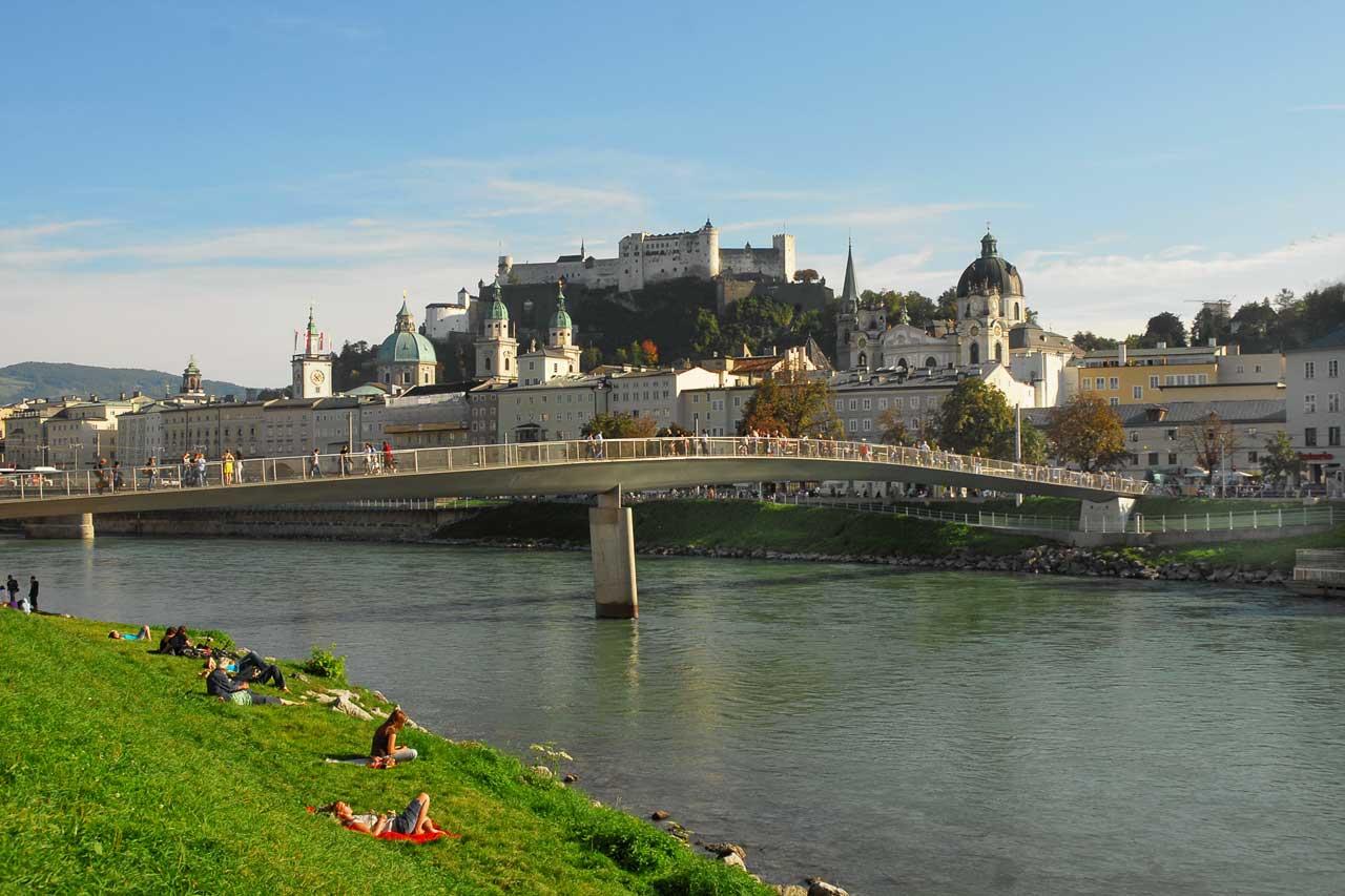 Salzburg Stadt Festung Hohen Salzburg