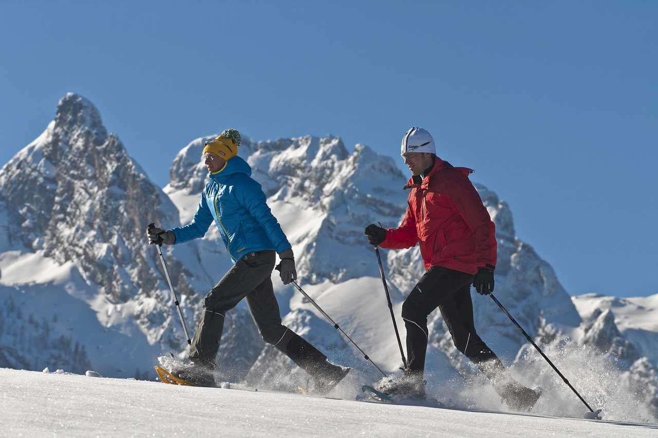 Hotel Traunstein in Abtenau - Schneeschuhwandern