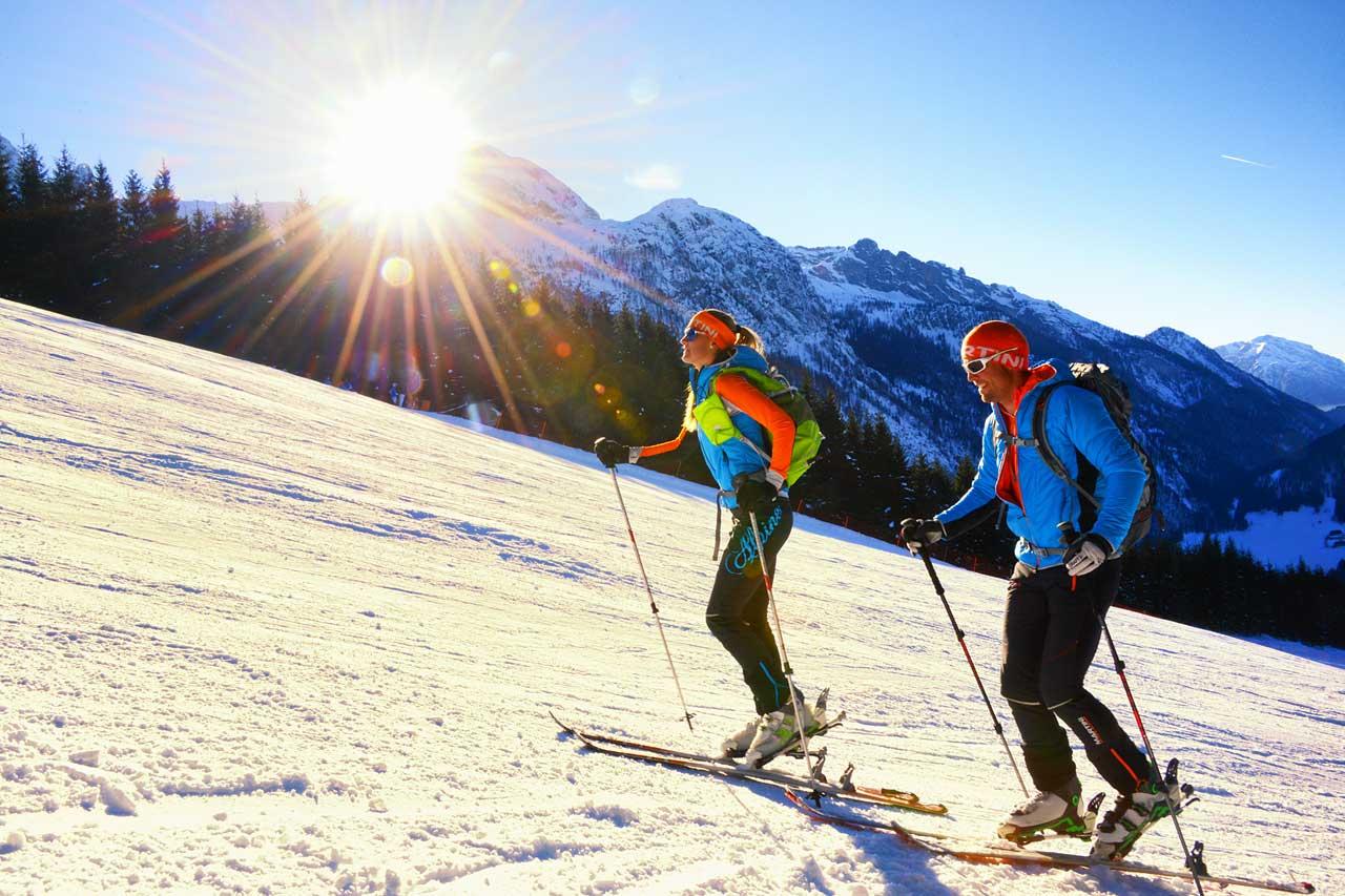 Hotel Traunstein in Abtenau - Skitour